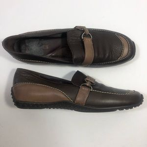 SESTO MEUCCI  Leather Loafers  Italy
